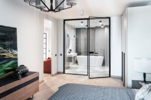Modern apartments with сopper accents-6