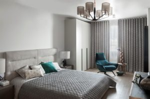 Modern apartments with сopper accents-10