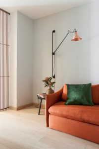 Modern apartments with сopper accents-13