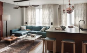 Modern apartments with сopper accents-21